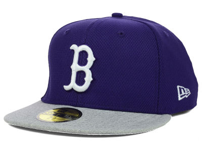 Boston Red Sox New Era MLB Diamond Heather 59FIFTY Cap