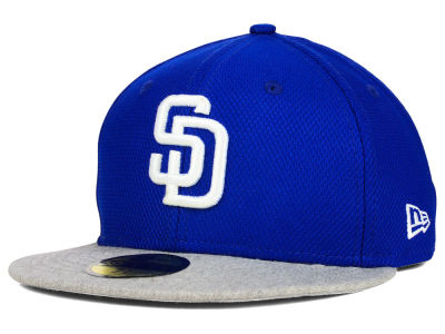 San Diego Padres New Era MLB Heather Basic 59FIFTY Cap