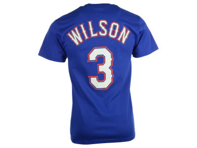 Texas Rangers Russell Wilson MLB Men's Official Player T-Shirt