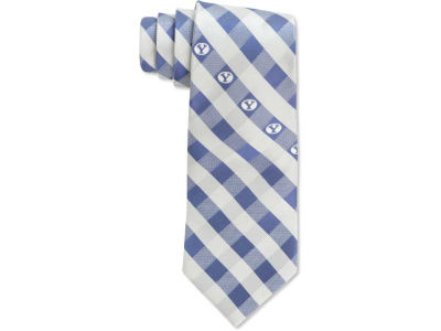 Brigham Young Cougars Polyester Checked Tie