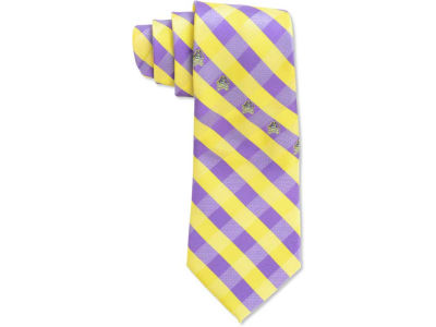 East Carolina Pirates Polyester Checked Tie
