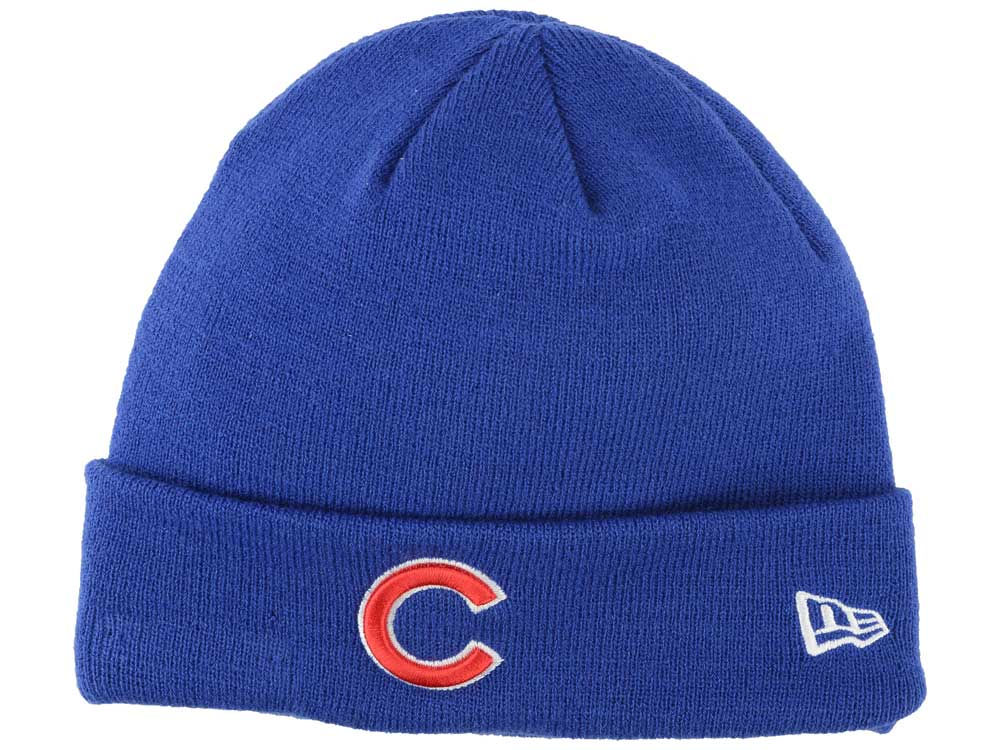 Chicago Cubs New Era MLB Basic Cuffed Knit  776f52c42cb