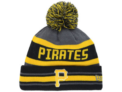Pittsburgh Pirates New Era MLB Team Jake Graphite Knit