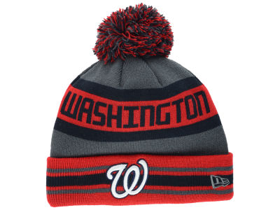 Washington Nationals New Era MLB Team Jake Graphite Knit
