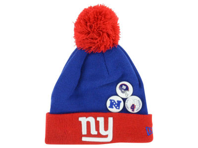 New York Giants New Era NFL Status Pin Knit