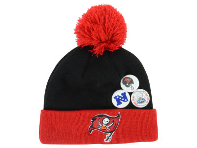 Tampa Bay Buccaneers New Era NFL Status Pin Knit