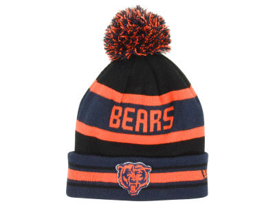 Chicago Bears New Era NFL Team Color Black Jake Knit