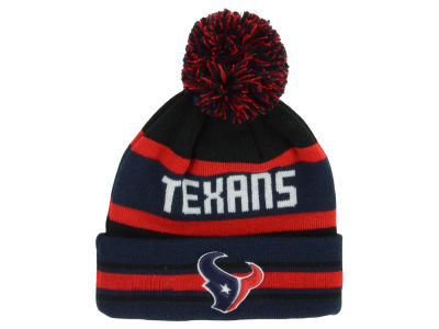 Houston Texans New Era NFL Team Color Black Jake Knit