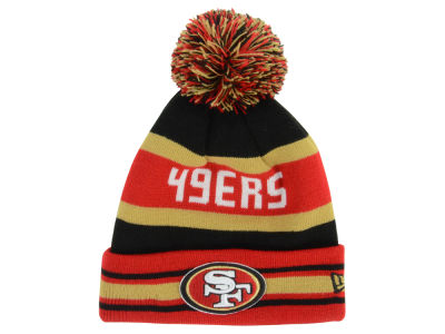 San Francisco 49ers New Era NFL Team Color Black Jake Knit