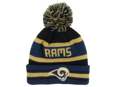 St. Louis Rams New Era NFL Team Color Black Jake Knit
