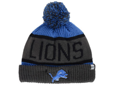 Detroit Lions '47 NFL 2014 Gray Calgary Knit