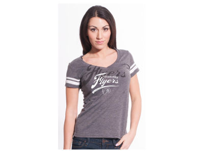 Philadelphia Flyers NHL Women's Double Take Script T-Shirt