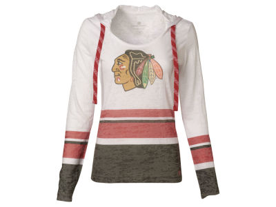 Chicago Blackhawks NHL Women's Skate Lace Lucy T-Shirt