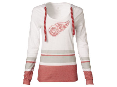 Detroit Red Wings NHL Women's Skate Lace Lucy T-Shirt