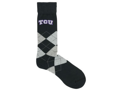 Texas Christian Horned Frogs Argyle Dress Sock