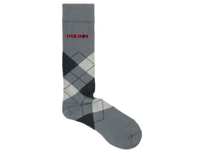 Connecticut Huskies Argyle Dress Sock