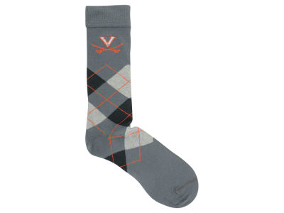 Virginia Cavaliers Argyle Dress Sock