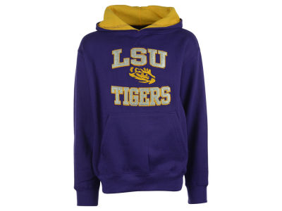 LSU Tigers NCAA Youth Girls Fieldcrest Hoodie
