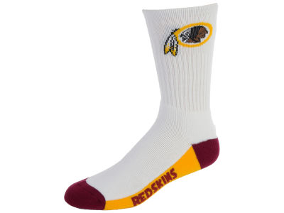 Washington Redskins Crew White 506 Sock