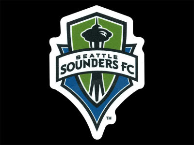 Seattle Sounders FC 4x4 Die Cut Decal Color