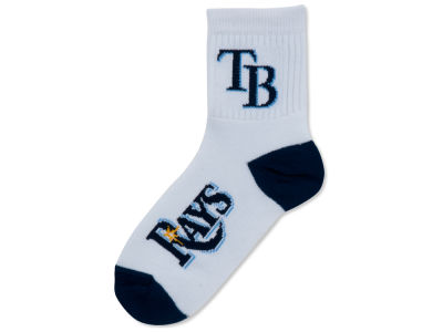 Tampa Bay Rays For Bare Feet Ankle White 501 Med Sock