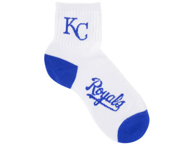 Kansas City Royals Ankle White 501 Med Sock