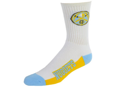 Denver Nuggets Crew White 506 Sock