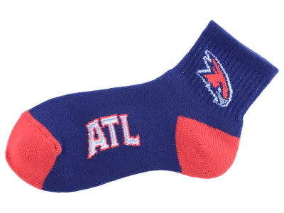 Atlanta Hawks For Bare Feet Ankle TC 501 Med Sock
