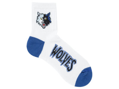 Minnesota Timberwolves Ankle White 501 Sock
