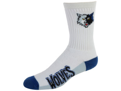 Minnesota Timberwolves Crew White 506 Sock