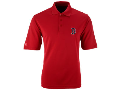 Boston Red Sox MLB Men's Pique Extra Lite Polo Shirt