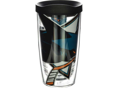 San Jose Sharks 16oz. Colossal Wrap Tumbler with Lid