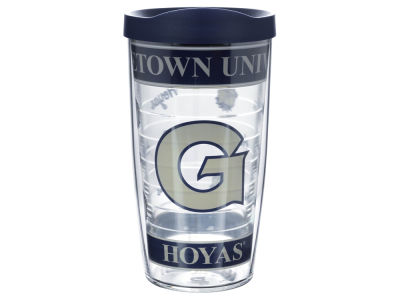 Georgetown Hoyas 16oz Wrap Tumbler With Lid