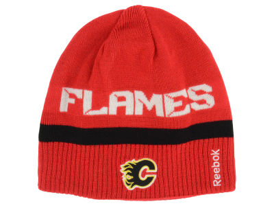 Calgary Flames Reebok NHL 2014 Player Reversible Knit