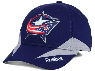 Columbus Blue Jackets Reebok NHL Practice Flex Hat