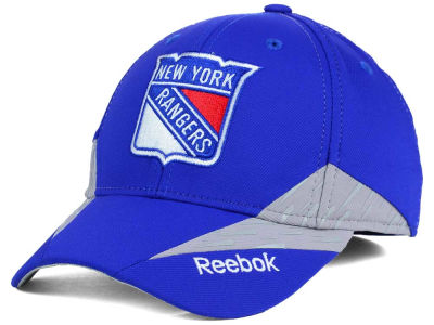 New York Rangers Reebok NHL Practice Flex Hat