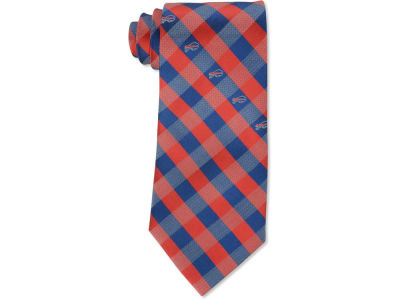 Buffalo Bills Polyester Checked Tie