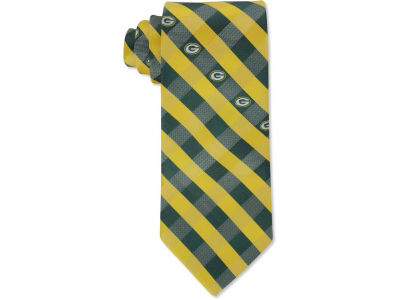 Green Bay Packers Polyester Checked Tie
