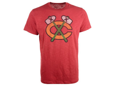 Chicago Blackhawks '47 NHL Alt Logo Scrum T-Shirt