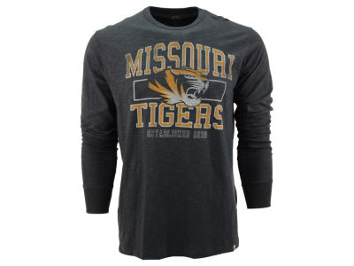 Missouri Tigers NCAA Stacked Long Sleeve Scrum T-Shirt