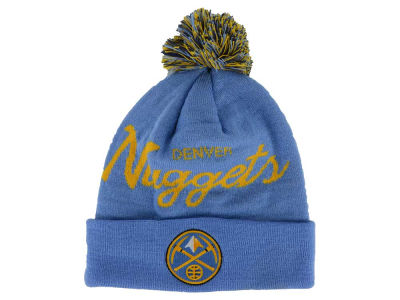 Denver Nuggets adidas NBA Special Script Pom Hat
