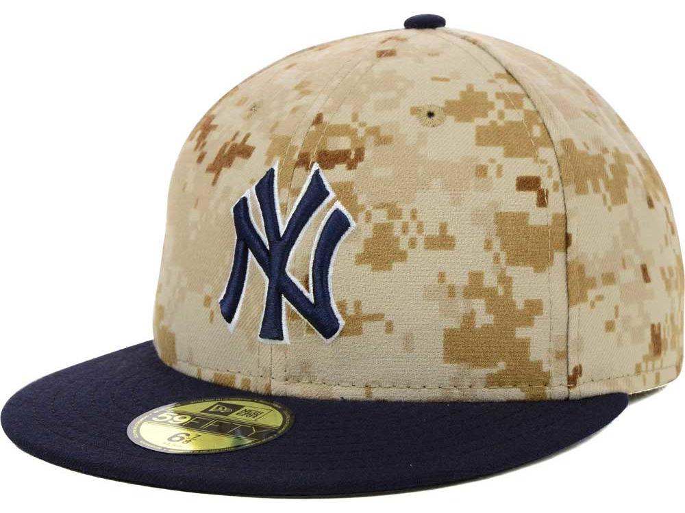 c7c0846e7b9 New York Yankees New Era 2014 MLB AC Memorial Stars   Stripes 59FIFTY Cap