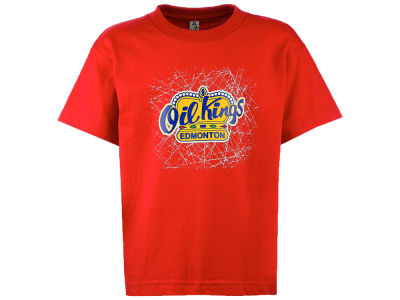 Edmonton Oil Kings Canadian Graphics West WHL Kid's T-Shirt