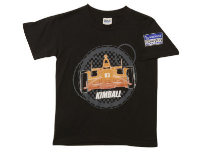 Charlie Kimball Ganassi Youth Wire Frame T-Shirt
