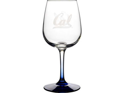 California Golden Bears Satin Etch Wine Glass
