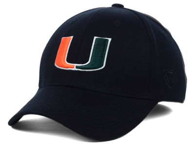 Miami Hurricanes Top of the World NCAA Memory Fit PC Cap