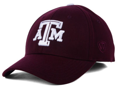 Texas A&M Aggies Top of the World NCAA Memory Fit PC Cap
