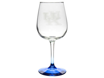 Kentucky Wildcats Satin Etch Wine Glass