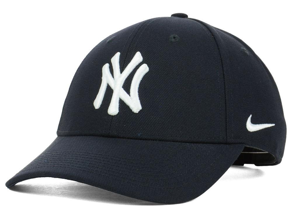 New York Yankees Nike MLB Dri-Fit Jeter Wool Classic Hat  b52fde8a0b6