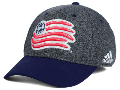 New England Revolution adidas MLS Two Touch Cap